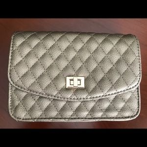 Madison West clutch with removable straps NWOT